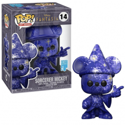 Funko Pop 14 Sorcerer Mickey (Artist Series), Fantasia