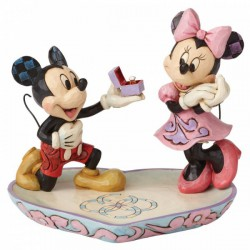 Disney Traditions - A Magical Moment (Mickey Proposing to Minnie Mouse Figurine)