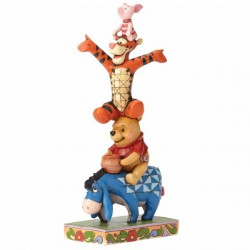 Disney Traditions - Built By Friendship (Eeyore, Pooh, Tigger and Piglet