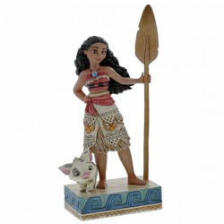 Disney Traditions - Find Your Own Way (Moana Figurine)