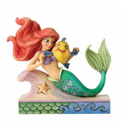 Disney Traditions - Fun and Friends (Ariel with Flounder Figurine)