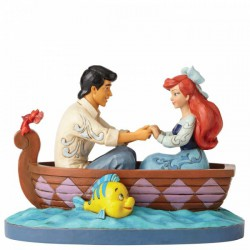 Disney Traditions - Waiting For A Kiss (Ariel and Prince Eric Figurine)