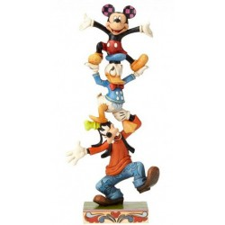 Disney Traditions - Teetering Tower (Goofy, Donald Duck and Mickey Mouse