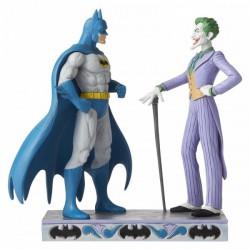 DC Traditions - Batman and The Joker Figurine