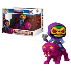 Funko Pop 98 Skeletor on Panthor, Masters Of The Universe