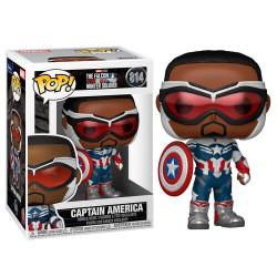 Funko Pop 814 Captain America, The Falcon and the Winter Soldier