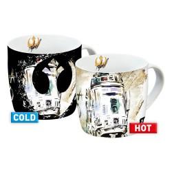 Star Wars IX Heat Change Mugs R2-D2