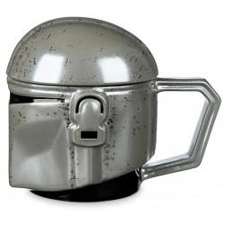 The Mandalorian Helmet Mug with Lid, Star Wars