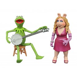 Muppets: Best of Series 1 - Kermit and Miss Piggy Action Figure Set