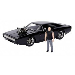 Fast and Furious: 1970 Dodge Charger Black 1:24