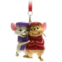 Disney Bernard and Bianca Hanging Ornament, The Rescuers