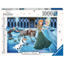 Frozen Jigsaw Collector's Edition Puzzle Anna, Elsa, Kristoff, Olaf and Sven (1000 pieces)