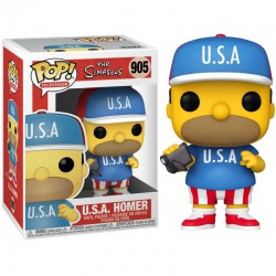 Funko Pop 905 U.S.A. Homer, The Simpsons