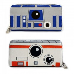Loungefly R2-D2/BB-8 Two Sided Wallet