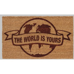 Scarface: The World is Yours Globe 60 x 40 cm Doormat
