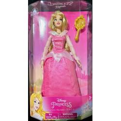 Disney Classic Doll - Aurora With Hair Brush, Sleeping Beauty