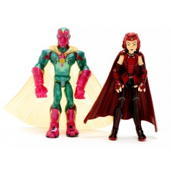 Disney Marvel Toybox Scarlet Witch and Vision Action Figure Set