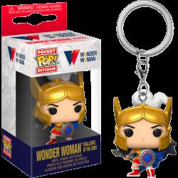 DC Comics Pocket POP! Vinyl Keychain 4 cm WW 80th - Wonder Woman (Challenge Of The Gods)