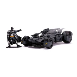 Justice League Hollywood Rides Diecast Model 1/32 Batmobile with Figure