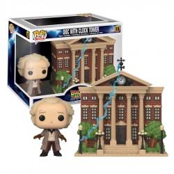 Funko Pop 15 Doc with Clock Tower, Back To The future