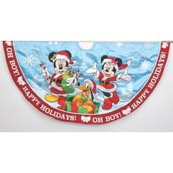 Mickey & Minnie Print Satin Treeskirt
