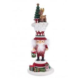 Hollywood Nutcracker Santa's Happy Reindeer