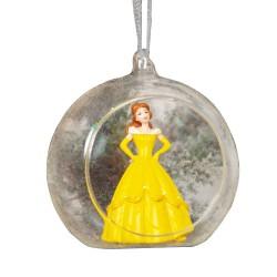 Disney Princess Belle 3D Ornament Glass (Bauble)