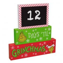 The Grinch ... Days Til Grinchmas Plaque
