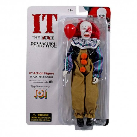 Stephen King's It 1990 Action Figure Burnt Face Pennywise 20 cm