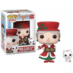 Funko Pop 02 Mrs. Claus & Candy Cane, Peppermint Lane