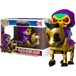 Funko Pop 278 Skeletor on Night Stalker, Masters Of The Universe