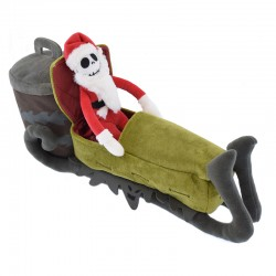 A Nightmare Before Christmas Jack Skellington Sleigh Pluche