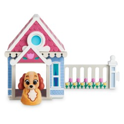 Collette Starter Home Playset Lady & De Vagebond - Disney Furrytale friends