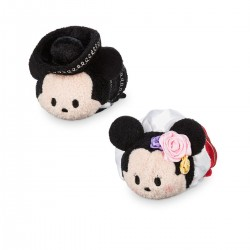 Mickey and Minnie Mouse ''Tsum Tsum'' Knuffel Set - Mexico