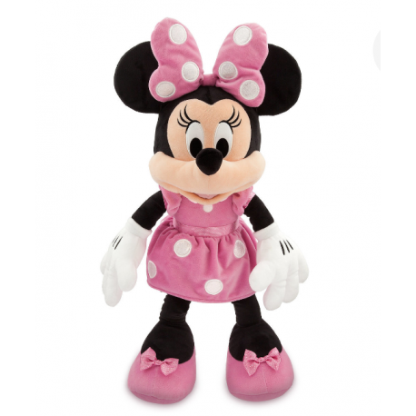 Disney Minnie Mouse Pink Pluche Large