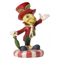 Disney Traditions Jolly Jiminy Cricket Figurine