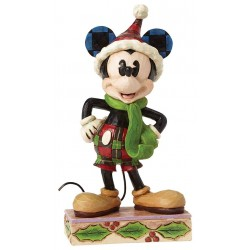 Disney Traditions Merry Mickey Mouse Figure