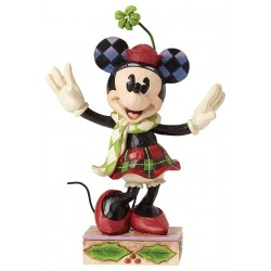 Disney Traditions Merry Minnie Mouse Figure