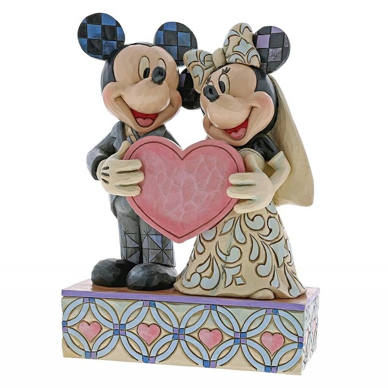 Disney Traditions Two Souls, One Heart Mickey and Minnie ...