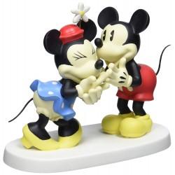 Precious Moments You Make Me Laugh Figurine, Mickey & Minnie