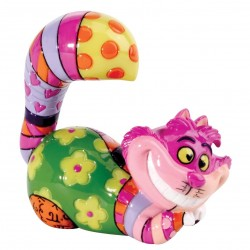 Disney Britto Cheshire Cat Mini Figurine Gift Boxed