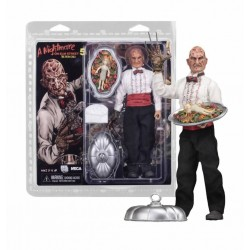 NECA Toys Nightmare On Elm Street Part 5 Chef Freddy 8″ Clothed Figure