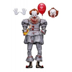NECA IT (2017) I HEART DERRY Ultimate Pennywise 7 action figure