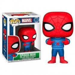 Funko Pop 397 Spider-Man Met Lelijke Sweater