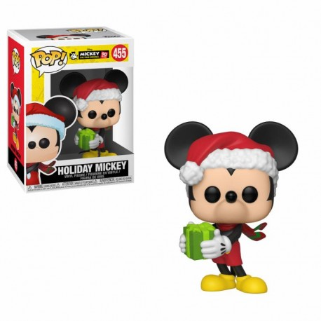 Funko Pop 455 Mickey Mouse Holiday