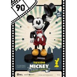 Mickey Mouse Master Craft Statue 1/4 Tuxedo Mickey 90th Anniversary 47 cm