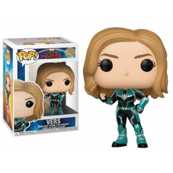 Funko Pop 427 Captain Marvel Vers