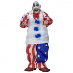 House of 1000 Corpses 8 Inch Doll Figure Clothed Retro Series - Captain Spaulding