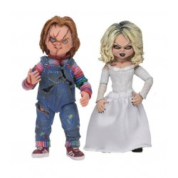 NECA Child's Play Chucky & Tiffany Action Figure 2-Pack [Ultimate Version]