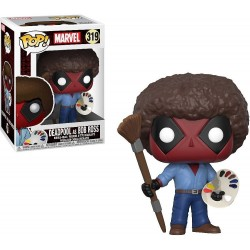 Funko Pop 319 Marvel Deadpool as Bob Ross